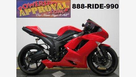 2007 Kawasaki Ninja Zx 6r Motorcycles For Sale Motorcycles On