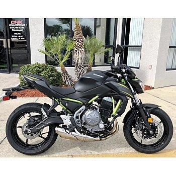 2019 Kawasaki Z650 ABS for sale 200655511