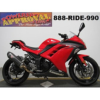 2016 Kawasaki Ninja 300 for sale 200681454