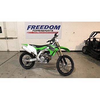 2019 Kawasaki KX450F for sale 200687326