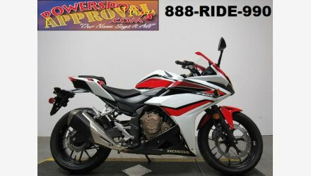2018 Honda CBR500R for sale 200690224