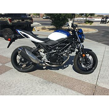 2018 Suzuki SV650 for sale 200701104