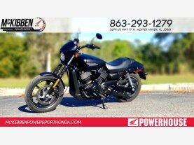2017 Harley-Davidson Street 750 for sale 200703390