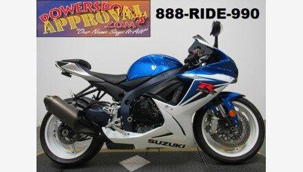 2012 Suzuki GSX-R600 for sale 200704540