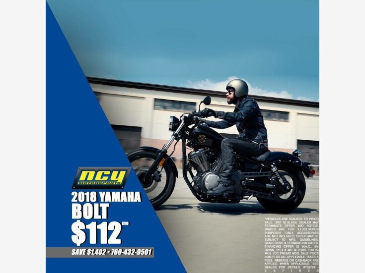 2018 Yamaha Bolt for sale near San Marcos, California 92069