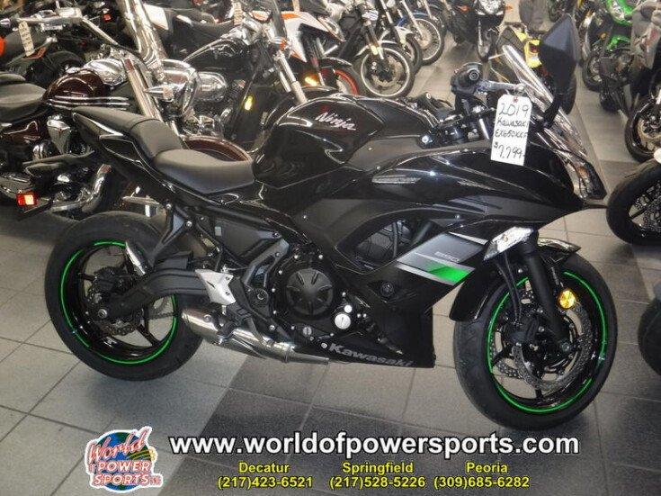 2019 Kawasaki Ninja 650 ABS for sale near Decatur, Illinois 62526