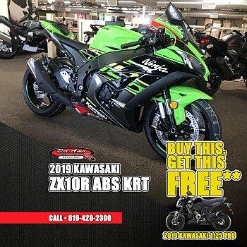 2019 Kawasaki Ninja ZX-10R for sale 200713799