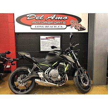 2019 Kawasaki Z650 ABS for sale 200714662