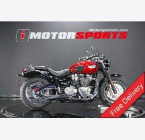 2018 Triumph Bonneville 1200 for sale 200720236