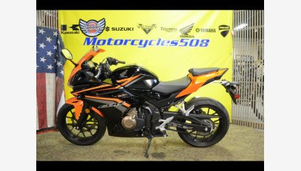 2017 Honda CBR500R for sale 200737232