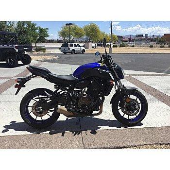 2018 Yamaha MT-07 for sale 200739546