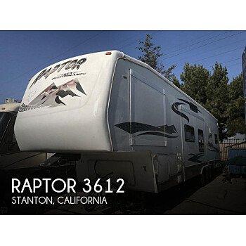 2005 Keystone Raptor for sale 300182023