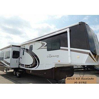 2011 KZ Escalade for sale 300185785